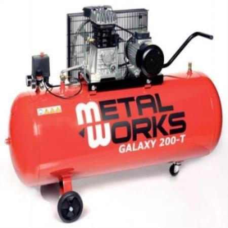 COMPRESOR ALTERNATIVO MARCA METALWORKS MODELO GALAXY 200 litros -T  4582003