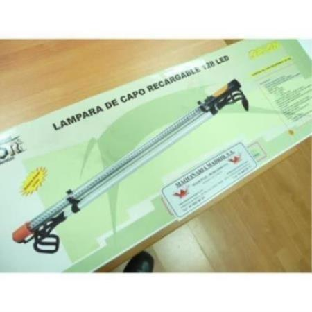 LAMPARA DE CAPO RECARGABLE 128 LED REF 2200128