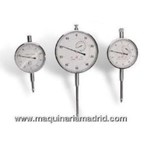 RELOJ COMPARADOR MARCA LIMIT MODELO 0-25 MM. X 0,01 MM.( 58 mm) 119110203